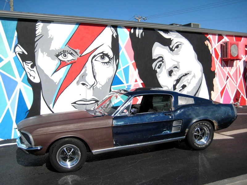 1967 Ford Mustang Factback