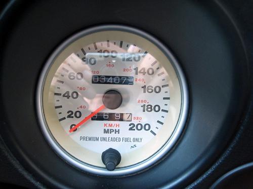 2000 Viper speedometer