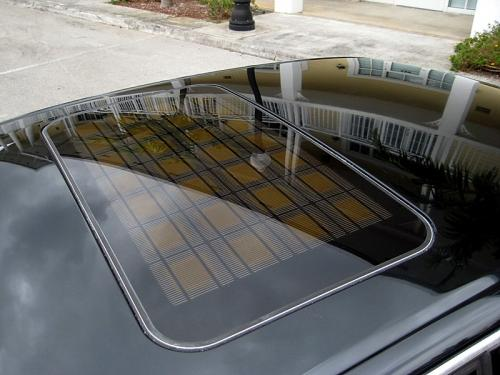 Audi S8 Solar Sunroof